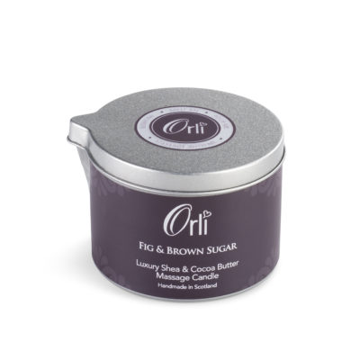 Fig and Brown Sugar Massage Candle by Orli