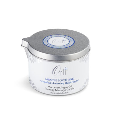 Muscle Soothing Massage Candle by Orli