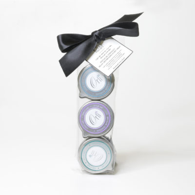 De-Stress Massage Candle Trio